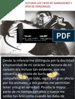 ASOCIAR CON LAS LECTURAS LOS TIPOS DE NARRADORES.pptx
