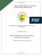 Engineering Practices Lab-ECE