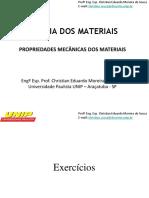Ciência Dos Materiais - Lista 1 Para Prova