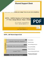 SSTPL Shared Support Desk