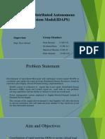 Intelligent Distributed Autonomous Power System Model(IDAPS
