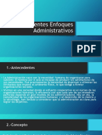 Diferenters enfoque administrativos