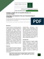 Ventajas y Riesgos Del Uso de Pastas Dentales Con Nanotecnologías.