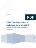 Driss Cahier de Charge