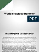 World's Fastest Drummer.pptx