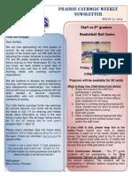 Newsletter 3 21 19