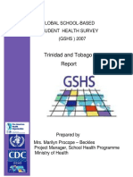 2007 GSHS Trinidad and Tobago Report