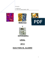 Bioetica Enfermeria Legal Guia Para El Alumno