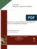 Elección de un sistema GMAO para una empresa de servicios de mantenimiento industrial. DMG.pdf