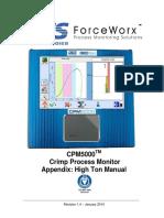 CPM5x00 Appendix_High Ton Installation