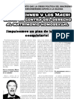 Volante Matrimonio Gay