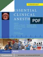 Essential Clinical Anesthesia - Vacanti, Charles A., Urman, Richard, Sikka, Pankaj, Segal, Scott.pdf