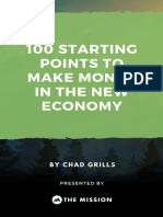 100 Business Ideas New Economy