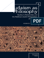 [Emunot_ Jewish Philosophy and Kabbalah] Howard Kreisel - Judaism as Philosophy_ Studies in Maimonides and the Medieval Jewish Philosophers of Provence (2015, Academic Studies Press) (1).pdf