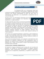 12.1 Estudio de Impacto Ambiental