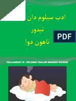 t2 Adab Tidur