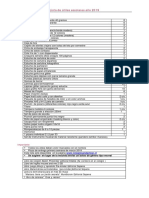 Lista de Utiles PreKinder 2019