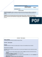 KBDD Planeacion de Actividades U3