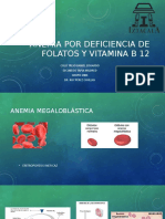 ANEMIA por deficiencia de folatos y vitamina B12.pptx