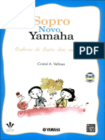 Sopro Novo Yamaha - Contralto