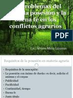 REALES Presentación de La Usucapión Agraria