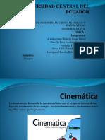 Aplicaciones de La Cinemática