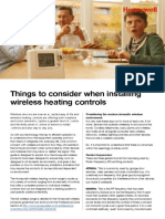 Installing Wireless Heating Controls(1)