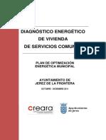 Diagnóstico Energético Vivienda de Servicios Comunes