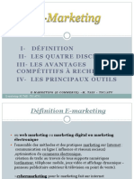 E Marketing Résumé