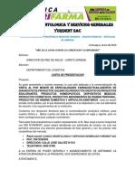 Carta de Presentacion Empresas