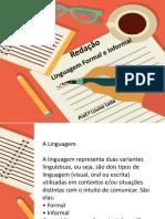 linguagem formal e informal 7 ano.ppt