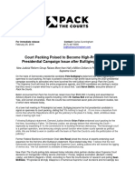 Pack the Courts Press Release