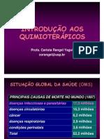 INTRODU+ç+âO AOS QUIMIOTERAPICOS