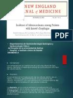 Incidencia de Adenocarcinoma en Pacientes Con Esofago de Barrett