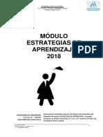 Módulo Estrategias de Aprendizaje Fceqyn 2018.