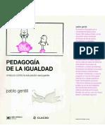 Gentili,  PEDAGOGIA DE LA IGUALDAD.pdf