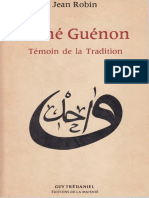 J. Robin - René Guénon, Témoin de la Tradition (première édition 1978).pdf