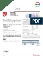 Interwall SAC - Carta Garantía Makrolon Bayer - Policarbonatos