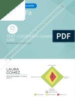 Estructura Para Realizar Informes Cognifit