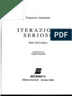 Antonioni - Iterazione Seriose