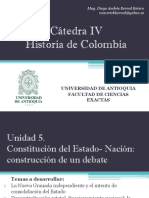 Unidad 5 Constitución del Estado- Nación