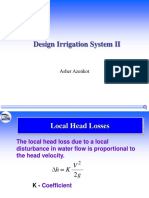 Design Irrigation System