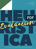 Evaluación euristica