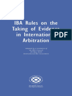 IBA Rules on the Taking of Evidence in Int Arbitration 201011 FULL (1).pdf
