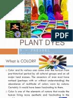 Plant Dyes