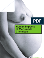 Human Impacts of Man-Made Chemicals