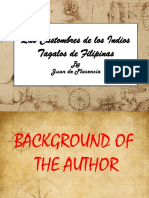 Customs of the Tagalog(1)