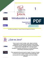 1. Introduccion a Java