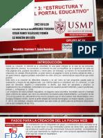 Tarea N 03 Estructura y Diseño Del Portal Educativo
