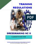 TR - Dressmaking NC II